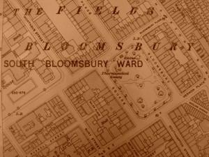 Bloomsbury Map